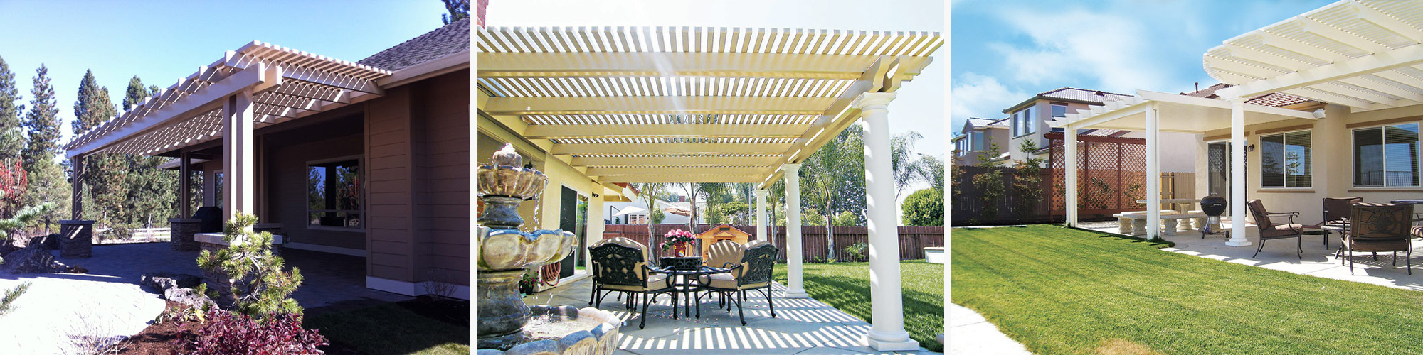 Stylish Lattice Patio Covers U0026 Shades